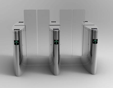 Pagar Otomatis Flap Barrier 11